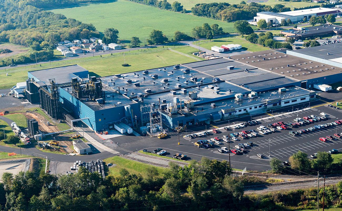 Carlisle Construction Materials Plant Expansion   Carlisle, PA